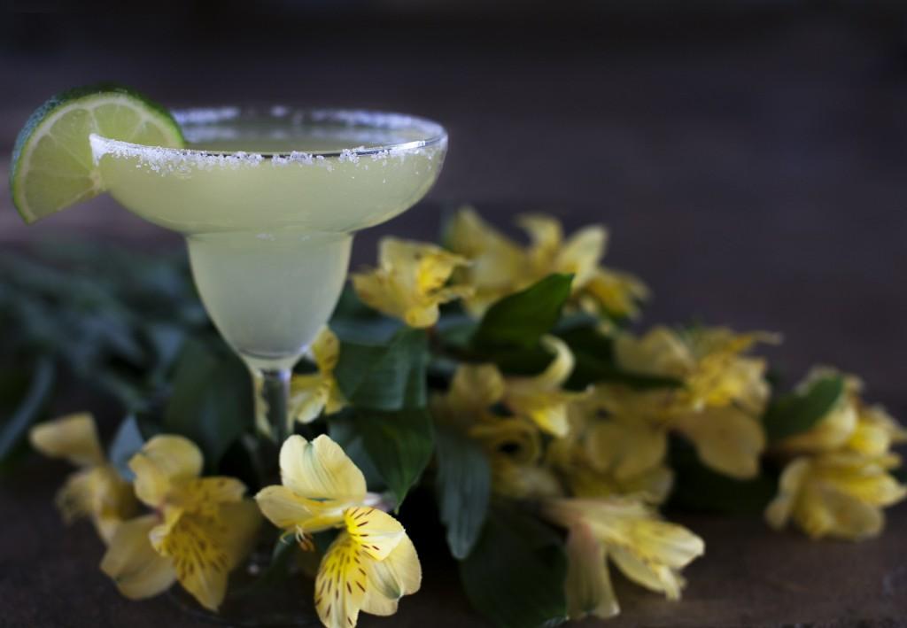 Ein leckerer Margarita aus Tequila.